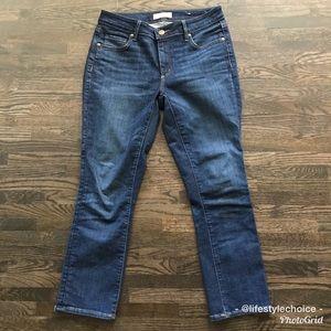 Ann Taylor LOFT curvy kick crop jeans 4/27